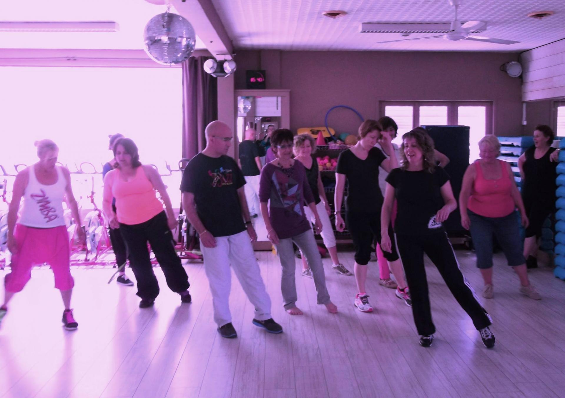 Cours de danse collectif