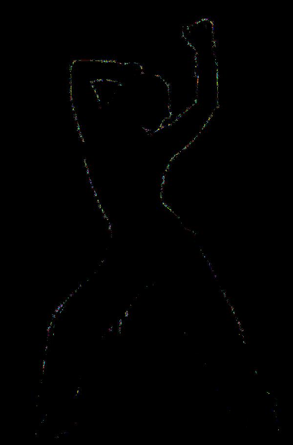 Zumba silhouette 1